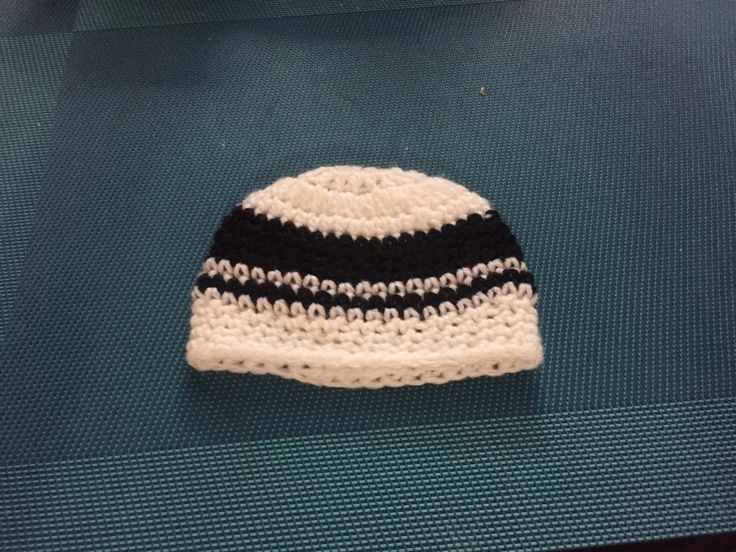 I made beanie for my unborn n child.