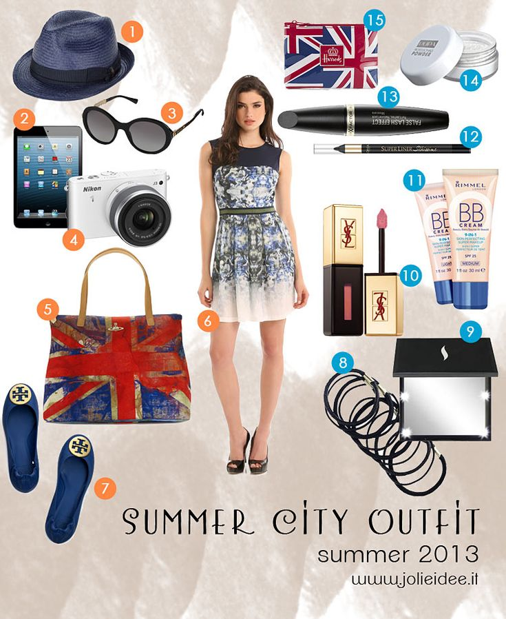 Total Look Estate 2013 / Summer 2013- Outfit, Make up e accessori per la città #outfit
