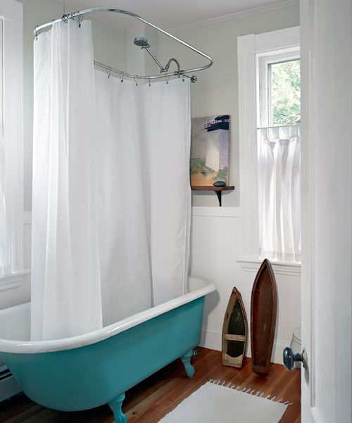 an over renovated cottage becomes an unburied treasure farmhouse bathroomssmall - Small House Bathroom Design