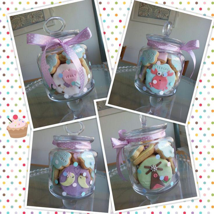 Birthday Cookies in a jar