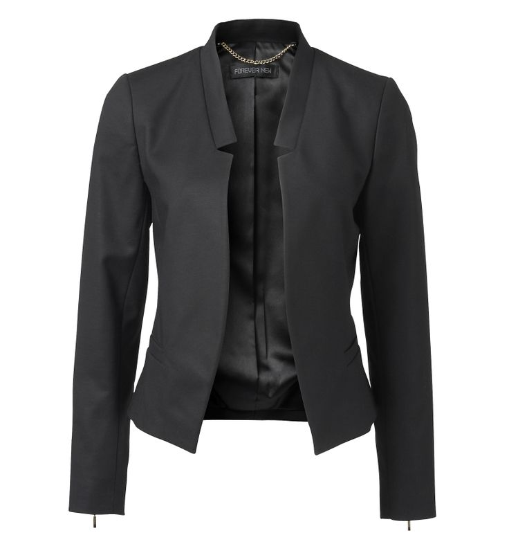 Forever New Ivy cut away blazer. trendy. simple. multi-purpose