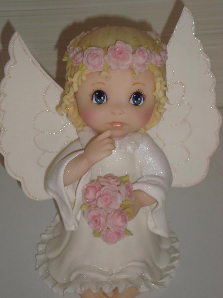 Mejores 91 im genes de angeles en porcelana en pinterest for Figuras ceramica