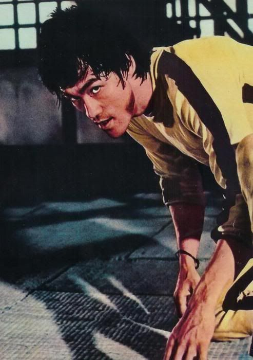 """Mr. Bruce Lee in """"Game of Death"""""""