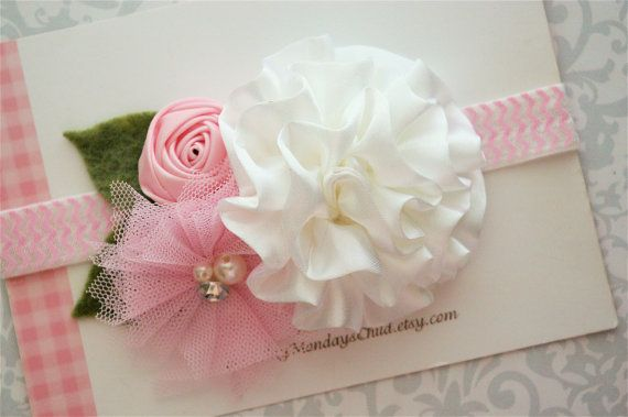 Satin Headband - M2M Matilda Jane - Baby Headbands, Toddler Headbands, Girls Headbands