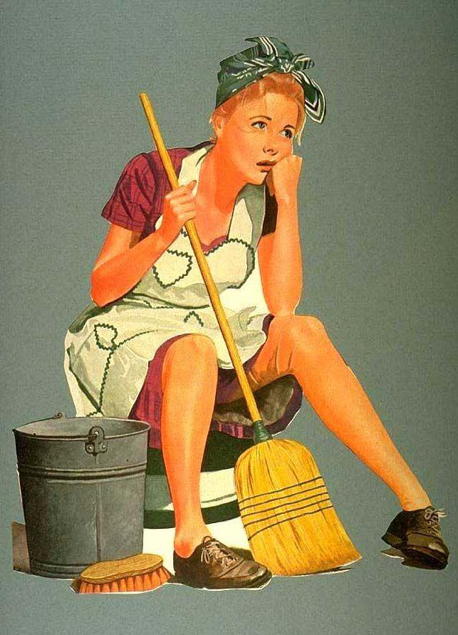 vintage cleaning image