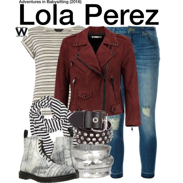 Inspired by Sofia Carson as Lola Perez in 2016's Adventures in Babysitting
