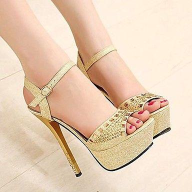 damesschoenen peep toe stiletto hak sandalen schoenen meer kleuren beschikbaar - EUR € 22.99