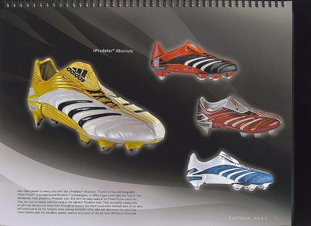 Planned to be launch by next year 2006, in conjunction with FIFA World Cup 2006 Germany.     Thiết kế : 3,5/5 – Thiết kế lạ và trong khá bắt mắt với những sọc 2 bên và đầu mũi giày. Một thiết kế rất riêng của Adidas.  http://thethaovip.vn/category/giay-da-bong/  Thoải mái: 4/5 – Một trong những đôi giày đá bóng tốt nhất nhưng chưa đạt đến sự hoàn hảo.  Đôi giay da bong  thực sự mềm, tạo cảm giác thoải mái cho đôi chân.