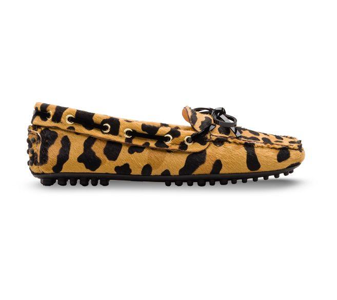 Carshoe - mocassini cavallino stampa leopardo