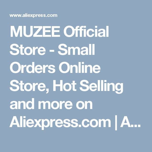 MUZEE Official Store - Small Orders Online Store, Hot Selling and more on Aliexpress.com   Alibaba Group