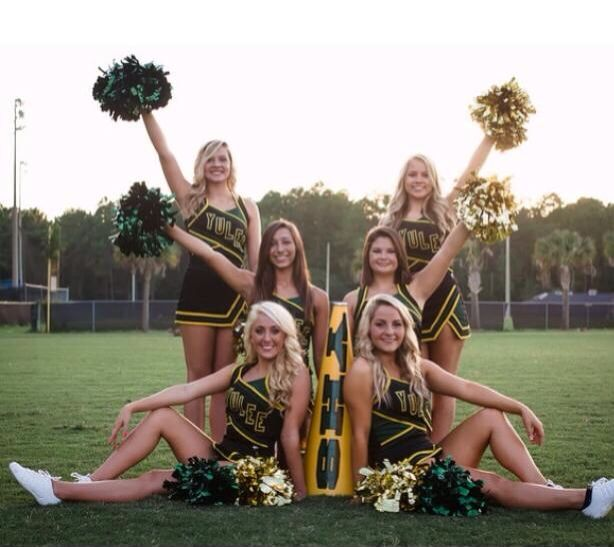 Cheerleading Senior Picture