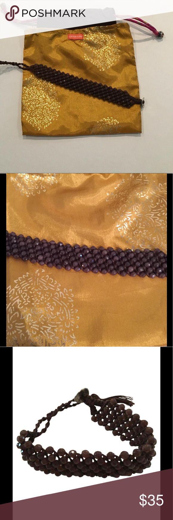 "Chan Luu brown beaded wrap bracelet. LIKE NEW. Chan Luu brown beaded bracelet. No signs of wear. Comes in original silk Chan Luu bag. Beaded part of bracelet is: 7"", max length 10"", minimum length 8"". Beads and string are both brown. Chan Luu Jewelry Bracelets"