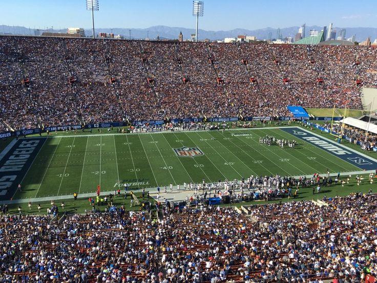 Cowboys v Rams, NFL preseason, 2016