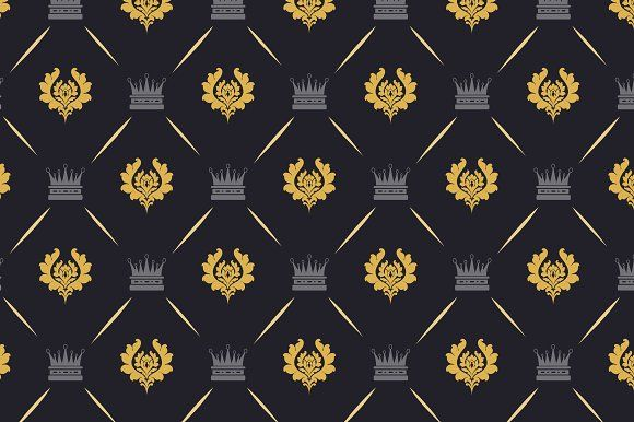Royal background pattern by kio on @creativemarket