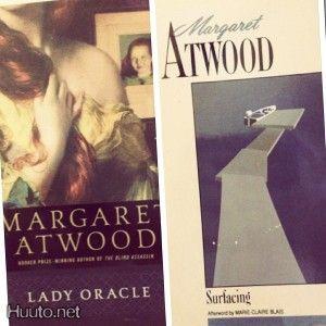 Surfacing & Lady Oracle (Atwood) - ei PK - 10 € - Englanninkielinen kaunokirjallisuus - Kaunokirjallisuus - Kirjat ja lehdet - Huuto.net - (avoin oma)