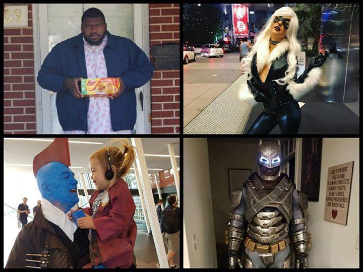 Share pictures of your nerdy #Halloween costumes in the comments section!  (Chris Olivier) #Batman #dccomics #superman #manofsteel #dcuniverse #dc #marvel #superhero #greenarrow #arrow #justiceleague #deadpool #spiderman #theavengers #darkknight #joker #arkham #gotham #guardiansofthegalaxy #xmen #fantasticfour #wonderwoman #catwoman #suicidesquad #ironman #comics #hulk #captainamerica #antman #harleyquinn