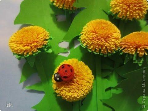 Квииллинг для начинающих. Пушистый цветок Видео-урок по квиллингу (бумагокручению) для новичков на примере изготовления пушистого цветка.Квиллинг - очень инт...