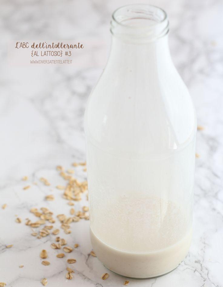 latte di avena - come preparare il latte di avena - #diversamentelatte