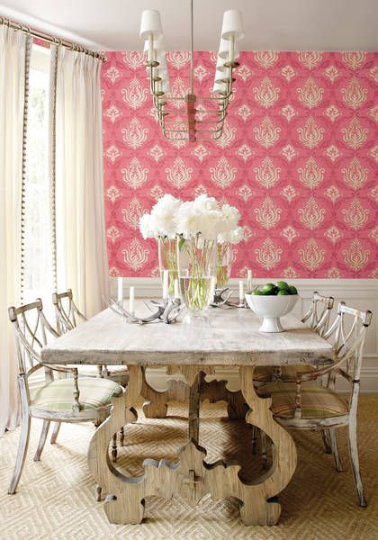 272 best Interiors: Dining Rooms images on Pinterest | Chinoiserie ...