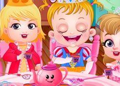 JuegosdeHazel.com - Juego: Fiesta del Té - Jugar Juegos Nuevos de Bebe Hazel Gratis Online