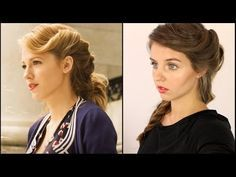 Blake Lively-The Age of Adeline   Frisuren Freitag   Lovethecosmetics - YouTube