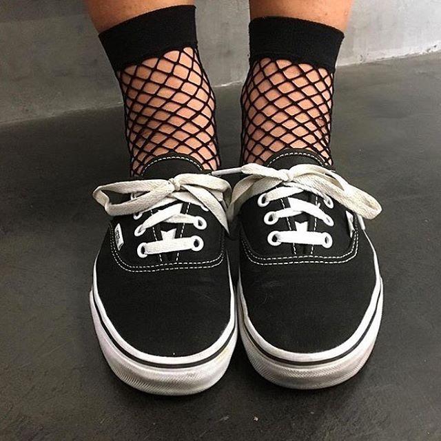 Nuevo must have  calcetines de rejilla. Referencia: 365650
