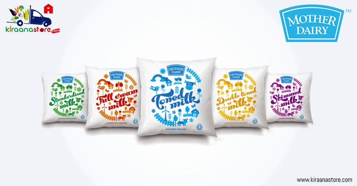 Shop Mother Dairy full cream, toned, double toned milk online from kiraanastore.com