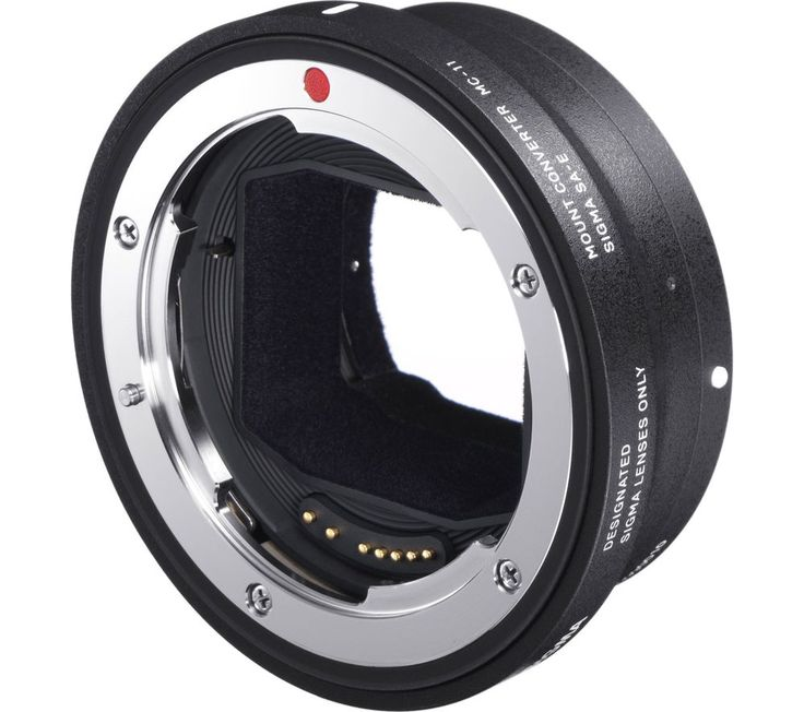 SIGMA  MC-11 Lens Mount Converter - Canon EOS to Sony E Mount Price: £ 181.09 Top features: - Allows you to attach Canon EF mount lenses with Sony E mounts - Incorporates data for smooth auto focus and makes lens compatible with exposure control - Means up to 19 Sigma lenses are available to Sony E mount body users Allows you to attach Canon EF lenses to Sony E mounts The Sigma MC-11 Lens...