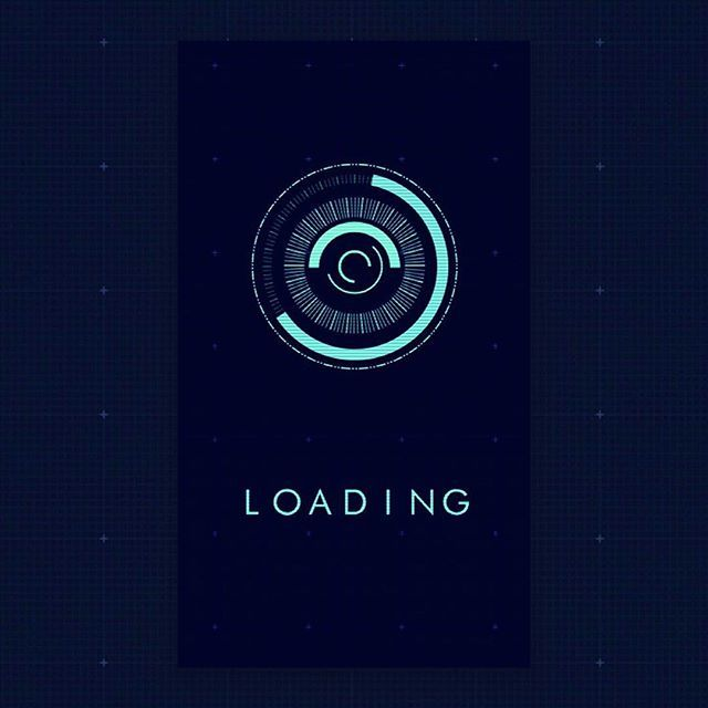 Daily 5 FUI #fui #ui #design #userinterface #grid #loading #futurist #dailywork #day5 #sketch #illustrator