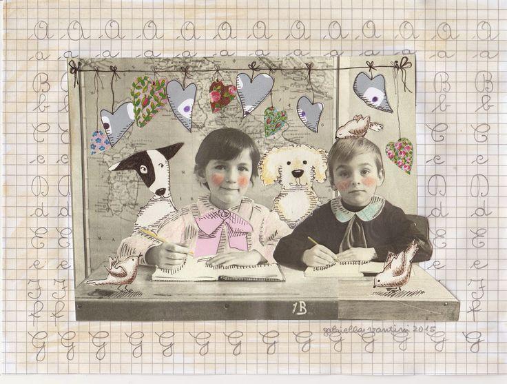 Cani in Cornice: in prima elementare Classe 1a B
