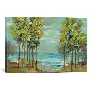 Spring Trees Canvas Art Print