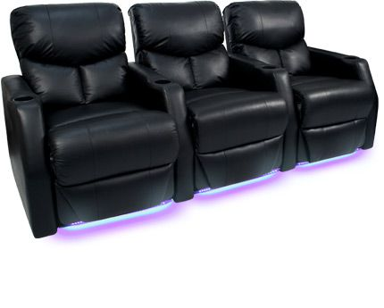 The seatcraft 12006 space saver home theater seats offer a for Space saving seating