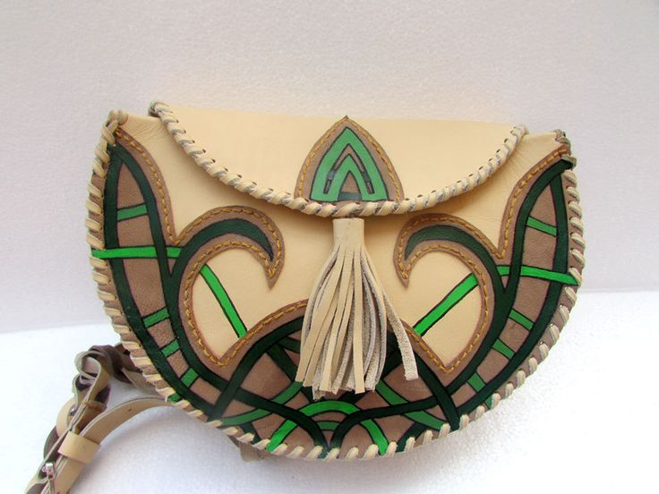 Celtic green by Timsparsebags on Etsy