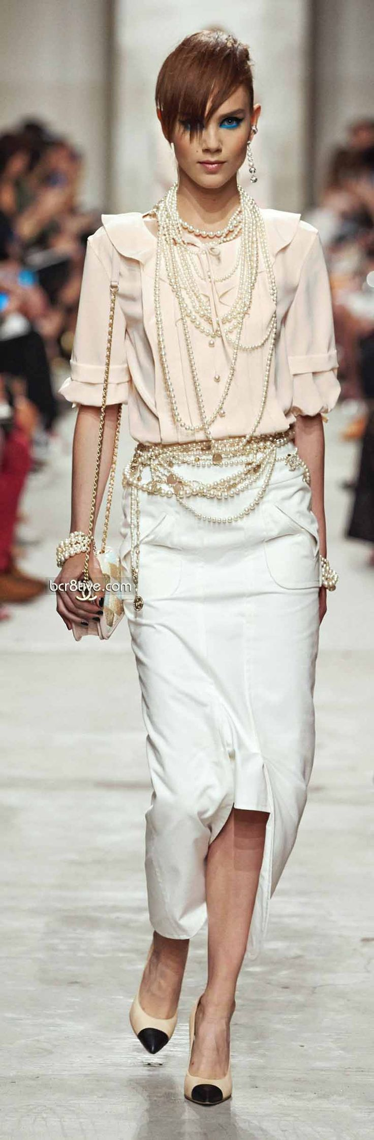 Pearl Princess! Chanel Resort 2013-14 Designer Fashion Trends Runway Style