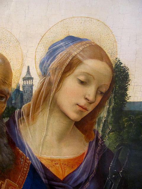 Filippino Lippi, Saint Apollonia 1483. Norton Simon