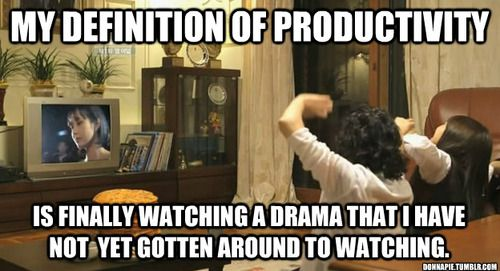 Totally agree. lol I'm pretty sure that this pic from answer me 1997 and I loved that the Mom and daughter were watching a drama together.