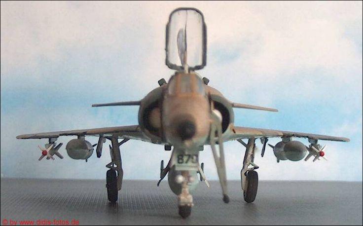"Flugzeugmodell 1:72  I.A.I. C-2 ""Kfir"" (Hasegawa 608)"