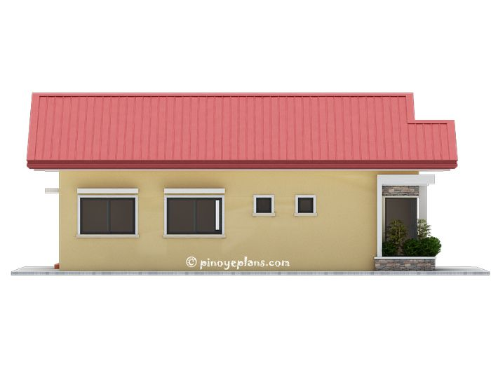 Single Storey 3 Bedroom House Plan Pinoy Eplans Bungalow Style House Plans Small House Design Philippines House Plans