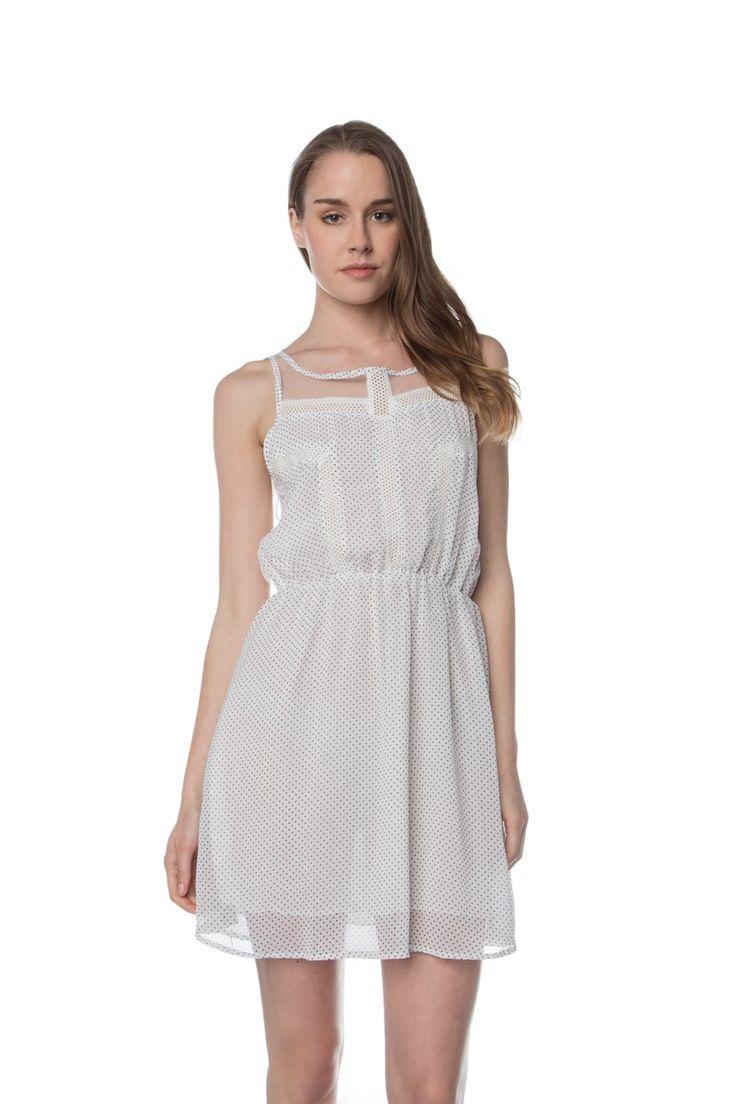 1522119210, WHITE, DRESS ,ΦΟΡΕΜΑ