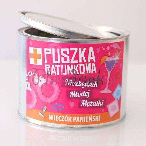 PUSZKA RATUNKOWA Niezbędnik Młodej Mężatki - ekstra prezent na panieński!