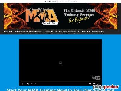 nice Mma Quickstart : The Ultimate Mma Training Program For The Beginner!