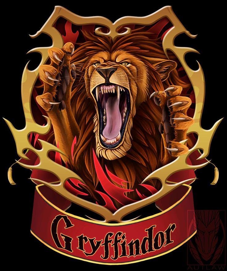 415 besten gryffindor lion bilder auf pinterest harry. Black Bedroom Furniture Sets. Home Design Ideas