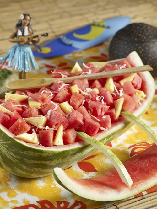 Watermelon Outrigger Canoe