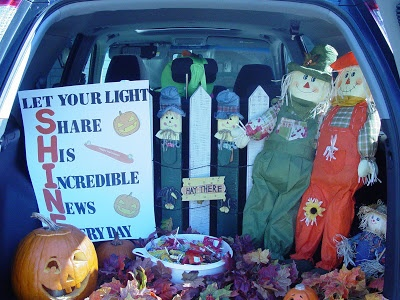 trunk or treat decorate your car trunks to pass out candy line up cars in the church parking lot for children to go trick or treating