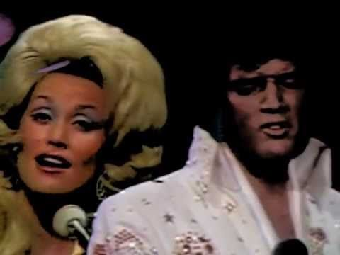 ELVIS  AND DOLLY PARTON I`LL ALWAYS LOVE YOU theres no video on here .. The song dolly wouldnt give him  Yet Whitney sang it not fare Rrrrrrr