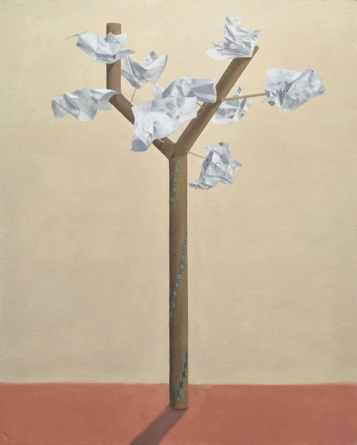 Giorgio Silvestrini - 2013 oil on canvas - 162 x 130 cm www.evahober.com