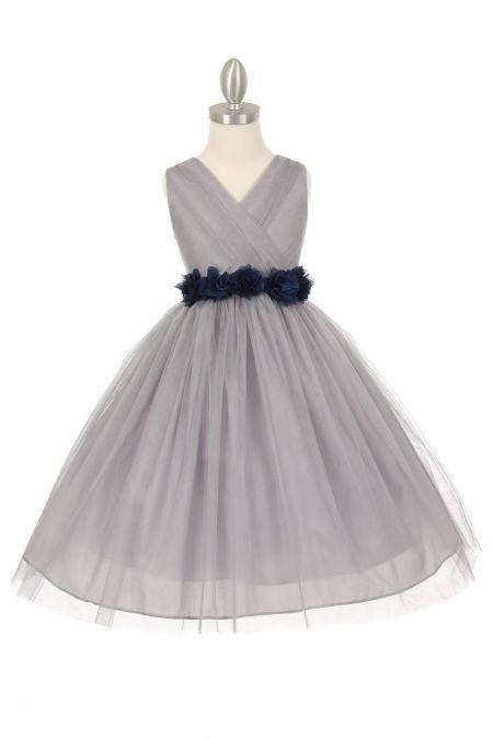 Best 25  Silver flower girl dresses ideas on Pinterest | Girls ...