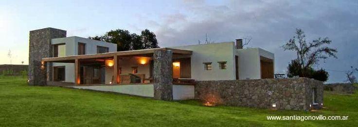 Casas contemporaneas de campo inspiraci n de dise o de - Interior de casas de campo ...