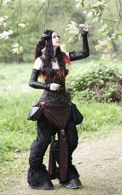 Fuck Yeah LARP, fauning-around: Elf Fantasy fair Haarzuilens,... I'd love to do a faun costume someday!