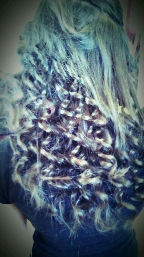 Spiral curls by me